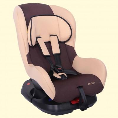 """Детское автомобильное кресло ZLATEK """"Galleon"""" коричневый, 0-4 лет, 0-18кг, группа 0+/1"""