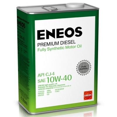 ENEOS масло мот. Premium Diesel  CJ-4 Синтетика 10W40 4л