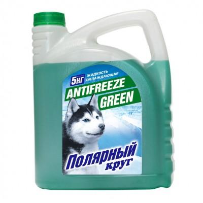 """Жидкость охлаждающая """"Антифриз"""" """"Полярный круг"""" G11 (зеленый) 5 кг"""