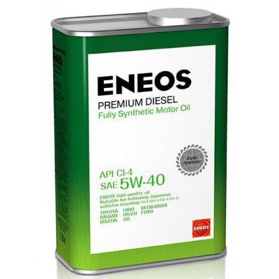 ENEOS масло мот. Premium Diesel  CI-4 Синтетика 5W40 1л