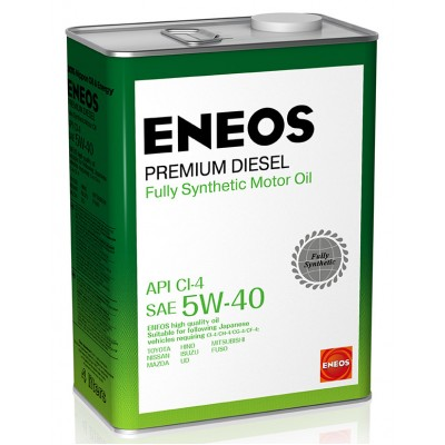 ENEOS масло мот. Premium Diesel  CI-4 Синтетика 5W40 4л