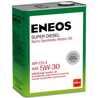 ENEOS масло мот. Super Diesel CG-4 п/синт 5W30 4л