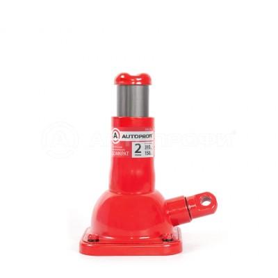 Домкрат механический бутылочный 2т 150-310мм винтовой  AUTOPROFI
