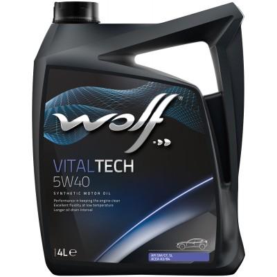 WOLF Масло мот. VITALTECH 5W40  4л/4