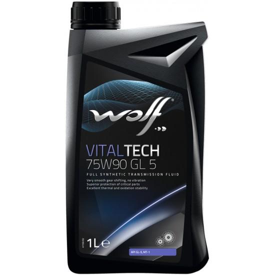 WOLF Масло транс. VITALTECH 75w 90  GL 5 1л/12