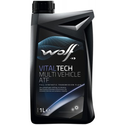 WOLF Масло транс. VITALTECH MULTI VEHICLE ATF  1л/12
