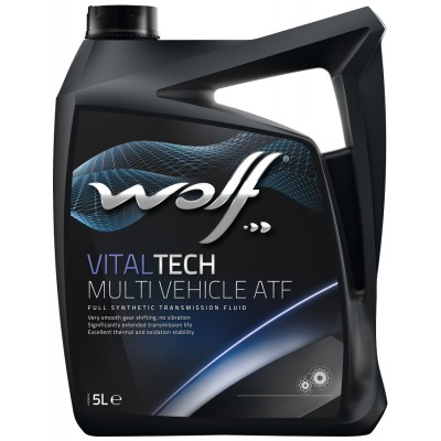 WOLF Масло транс. VITALTECH MULTI VEHICLE ATF  5л/4