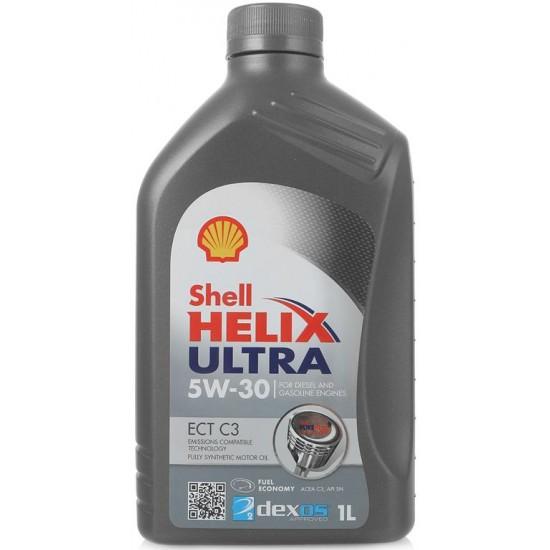 Масло моторное Shell Helix Ultra ECT 5W30 C3 DEXOS синт 1л